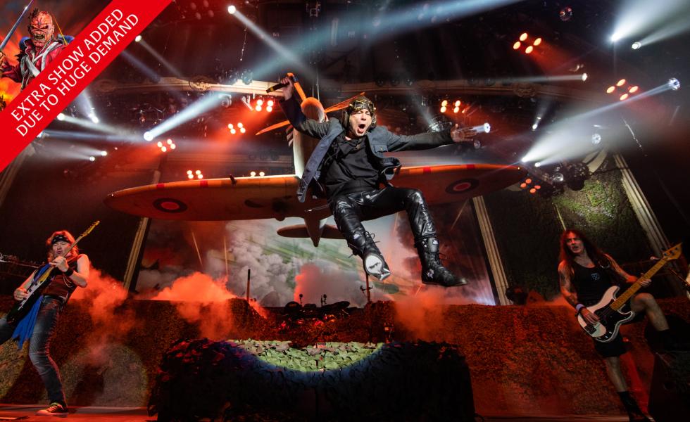Iron Maiden New Show Added