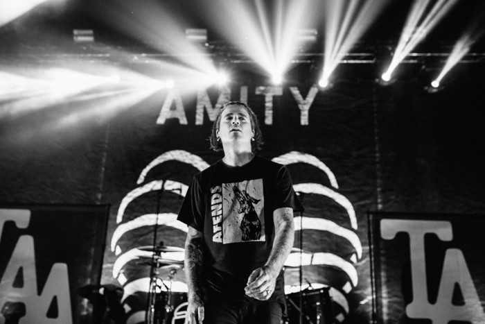 Joel Birch, The Amity Affliction // Photo: Matt Warrell
