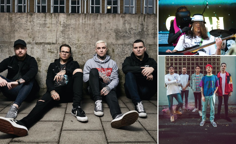 THE AMITY AFFLICTION // Announce Huge 'Death to Misery' Tour