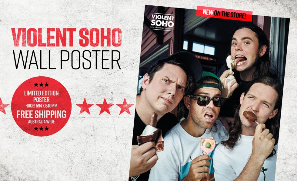 VIOLENT SOHO // Life-Sized and Coming to a Wall Near You