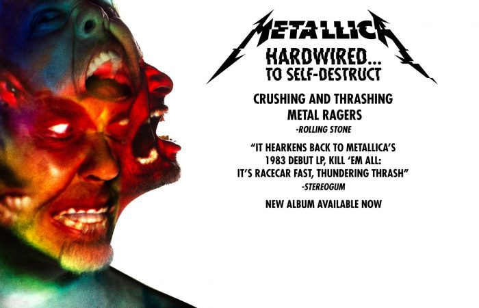 METALLICA // Hardwired… To Self-Destruct