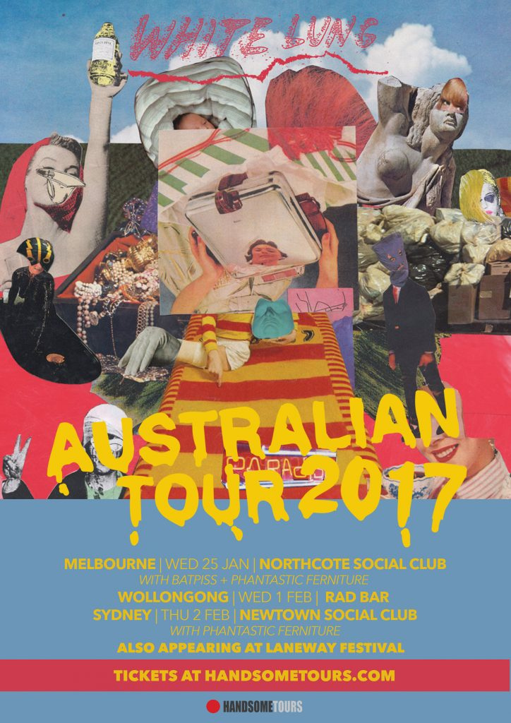 White Lung Australian Tour 2017