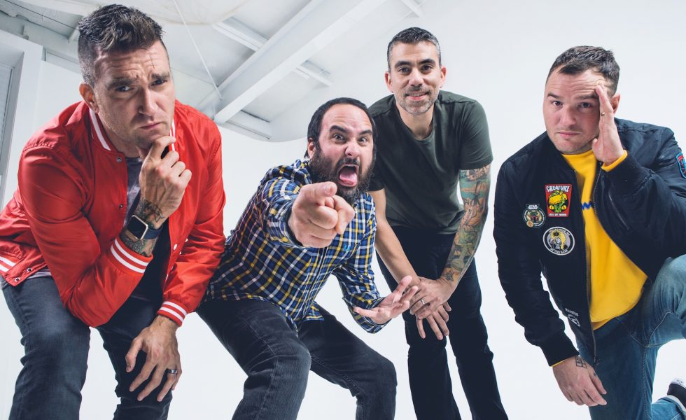 NEW FOUND GLORY // Announce 20 Years Of Pop Punk Anniversary Tour