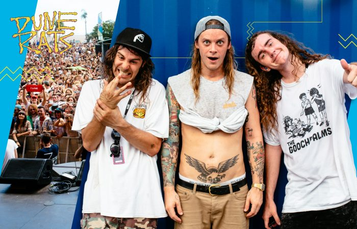 GET IN THE VAN // Dune Rats Blazin' A Trail at Laneway Festival