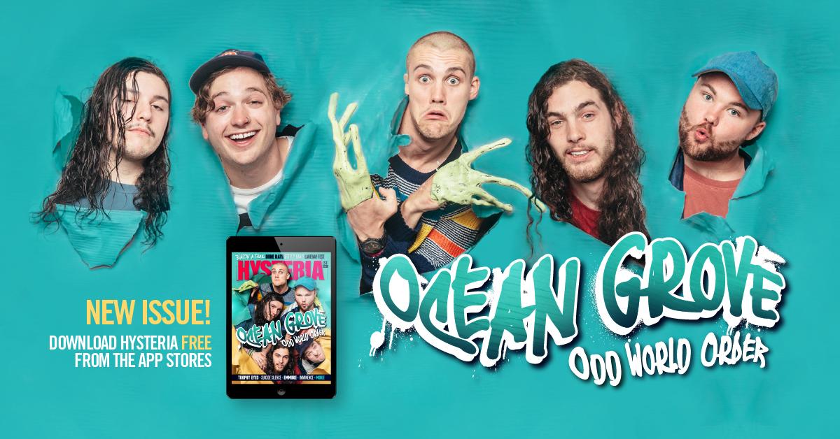 OCEAN GROVE // Odd World Order - Hysteria Magazine