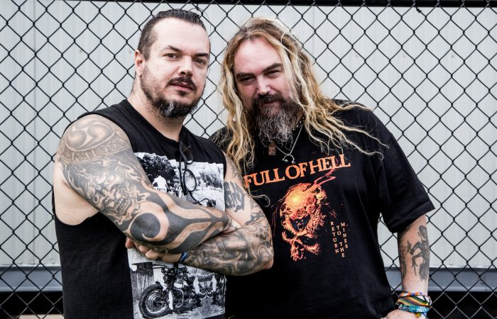 HARD NOISE: MAX & IGGOR CAVALERA // Chefes da Familia de Metal