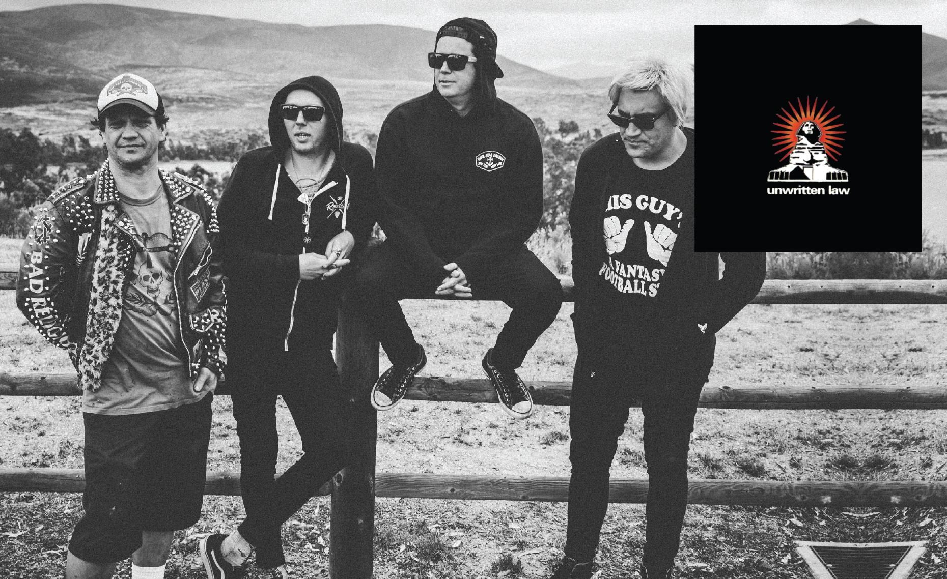 Unwritten Law Announce The Black Album 20th Anniversary Australian Tour Hysteria Magazine