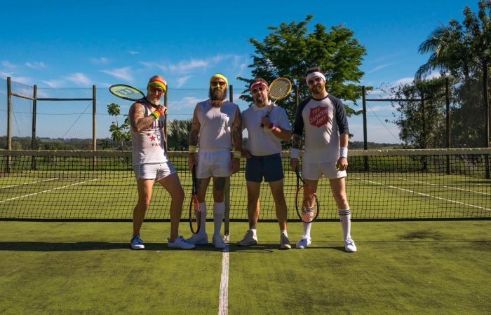 HAMMERS // Premiere Hilarious Tennis-Themed Video For New Single 'Dead Set'