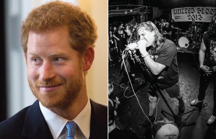NEWS: POWER TRIP // Prince Harry Confirmed As Metal Head