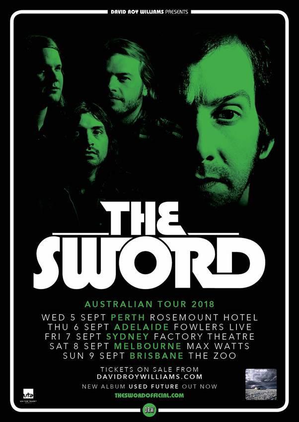 The sword tour dates in Australia