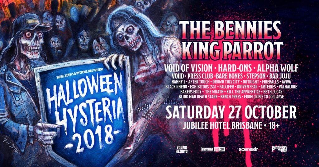 Halloween Hysteria 27 October 2018