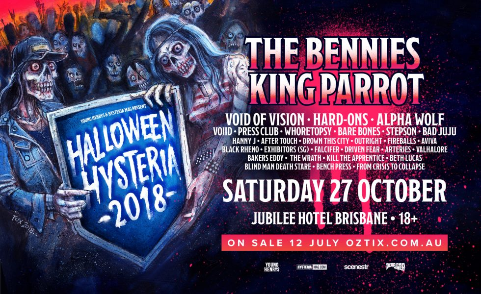 HALLOWEEN HYSTERIA // A Celebration Of All Things Loud