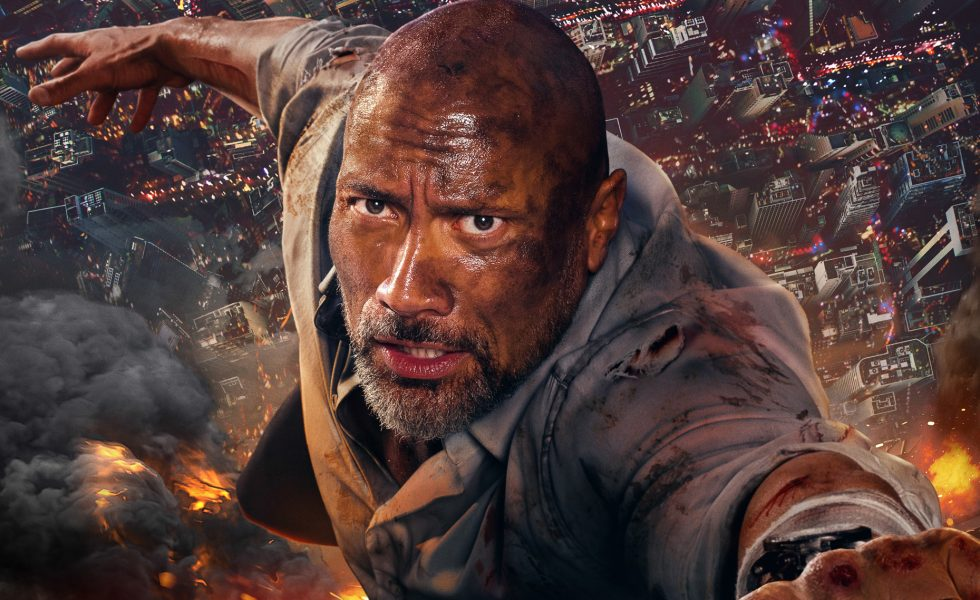Skyscraper with Dwayne Johnson Movie Review