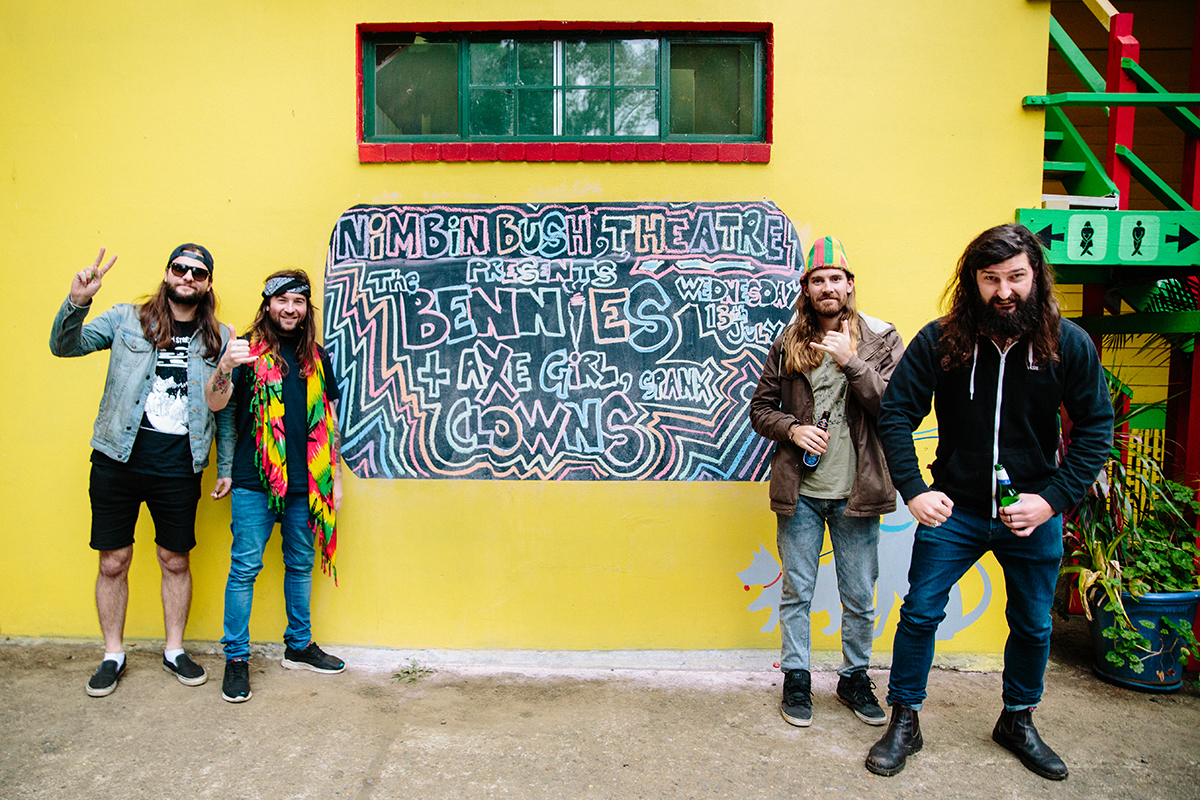 The Bennies in Nimbin