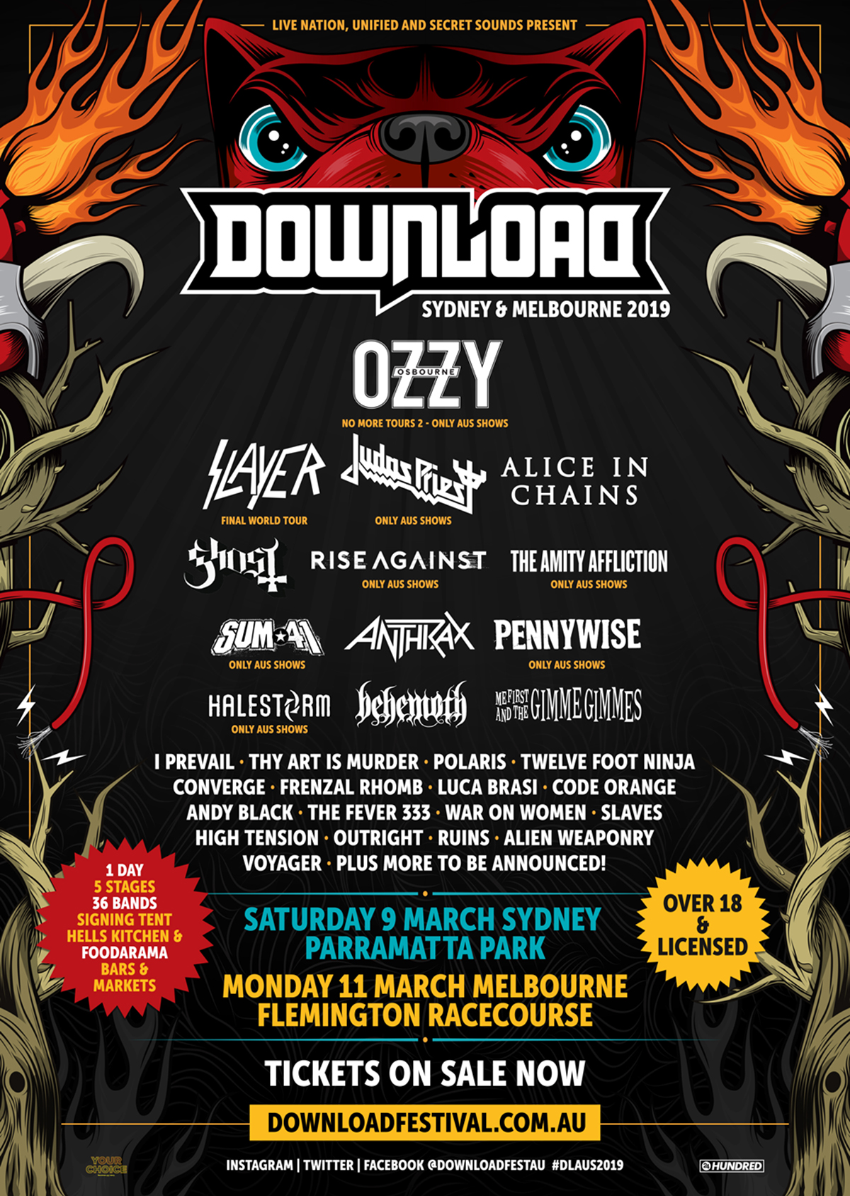 Download 2019 Second Line-up Announcement