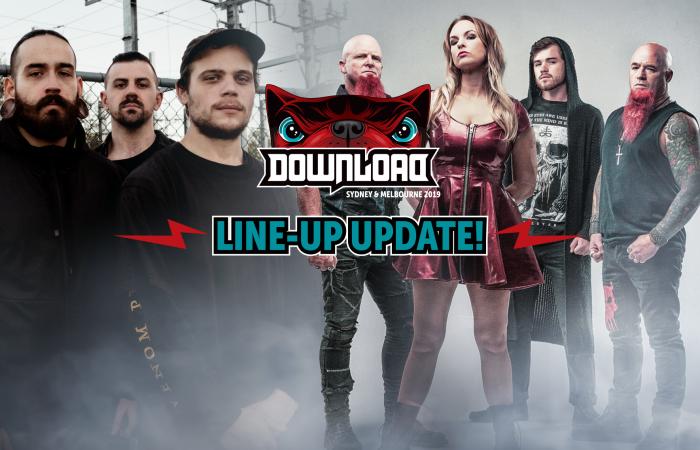 DOWNLOAD FESTIVAL AUSTRALIA // Drop Third Line-Up Announcement!