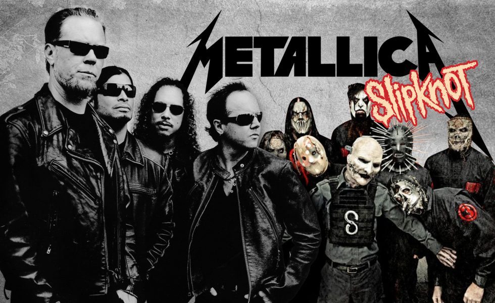 metallica slipknot hysteria