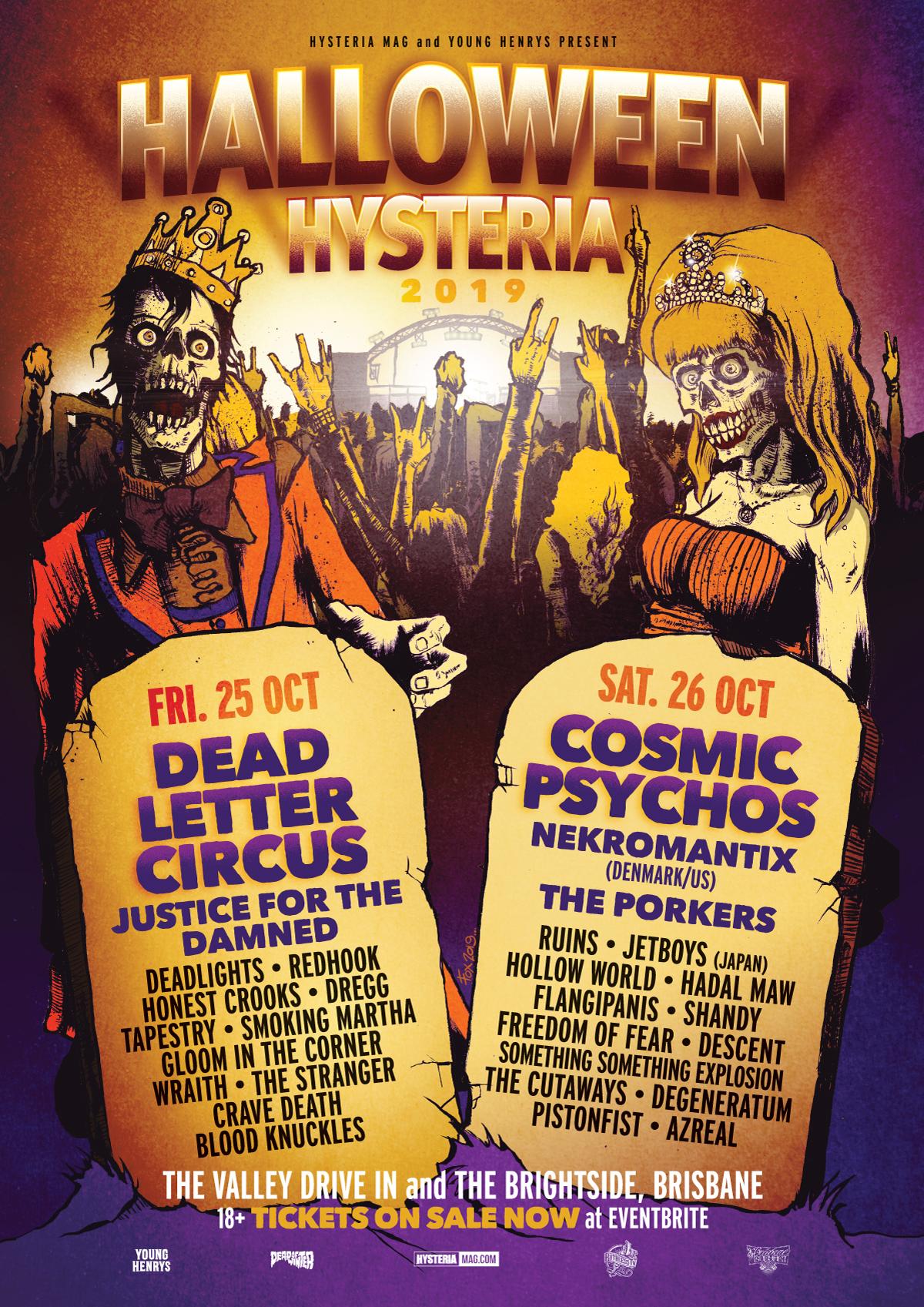 Halloween Hysteria 2019 Tickets at Eventbrite