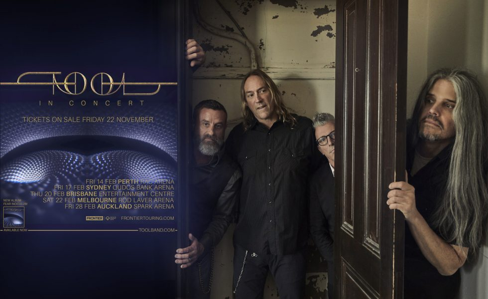 TOOL // Will Bring 'Fear Inoculum' Tour to Australia