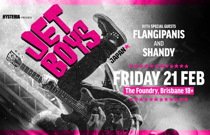 JETBOYS // Dropping Maximum Punk Rock on Brisbane!
