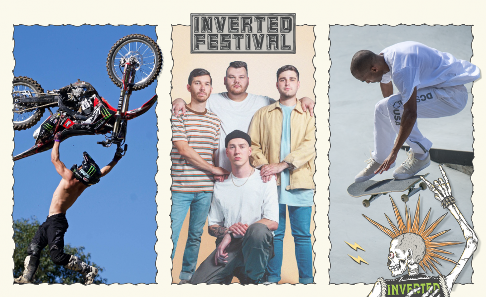 "INVERTED FESTIVAL: TROPHY EYES // ""It Sounds Almost Like A Warped Tour Kind Of Thing."""