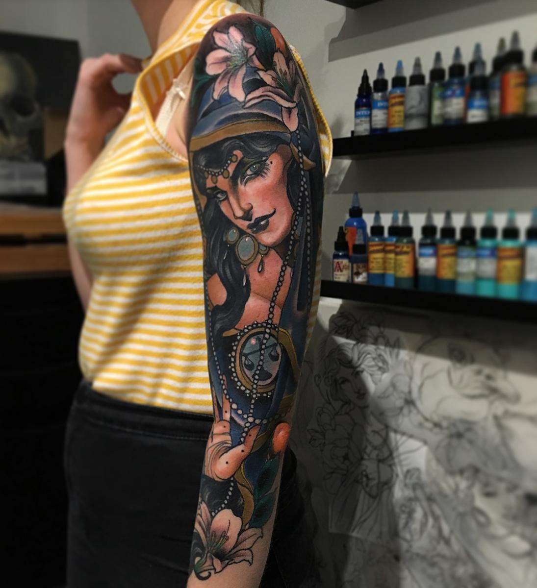 Фото татуировок в необычных