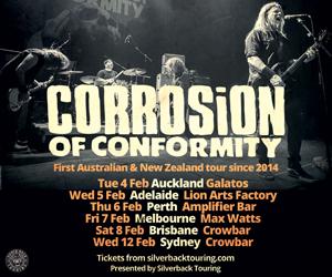 corrosion of conformity hysteria
