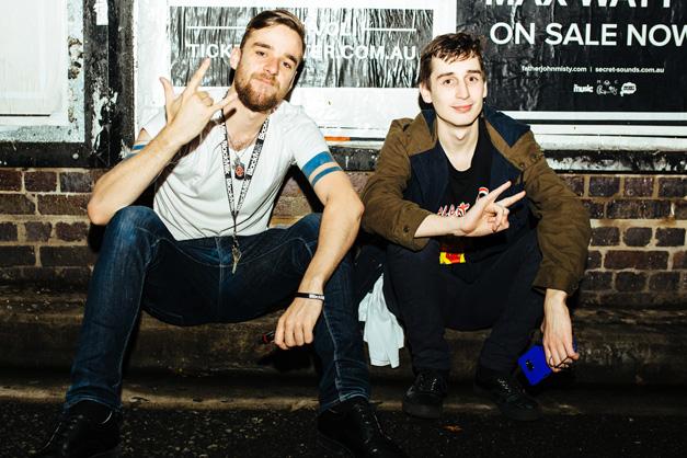 Monty and Daniel